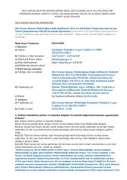 İhale Kayıt Numarası : 2014/54583 a) Adresi