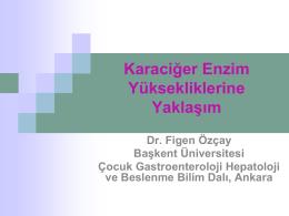 Dr.Figen ÖZÇAĞ - 2. bahar pediatri günleri