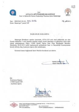 Gündemin 29.Maddesi - Antalya Belediyesi
