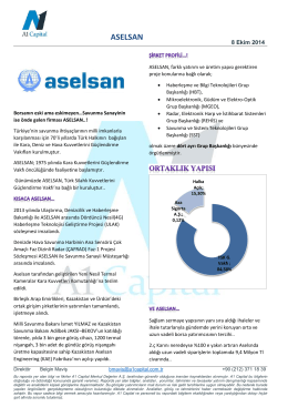 ASELSAN - A1 Capital