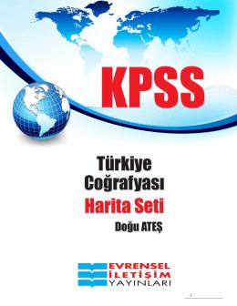 Türkiye Coğrafyası Harita Seti