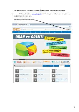 EBA (Eğitim Bilişim Ağı) Resmi sitesinin Öğrenci Şifresi Verilmesi