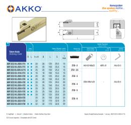 ADKT-ZCC2-R/L-2020-2-T15 ADKT-ZCC2-R/L-2525-2-T15
