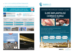 advanced ımplantology surgery course