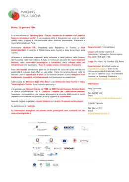 Roma, 30 gennaio 2014