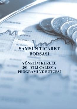 yönetim kurulu çalışma programı ve bütçe 2014