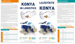 LOJİSTİKTE - Invest in Konya