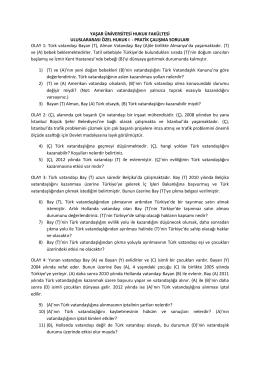 uluslararası özel hukuk ı pratik çalışma (06.11.2014)