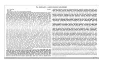 T.C. MUDANYA 1. ASLİYE HUKUK MAHKEMESİ