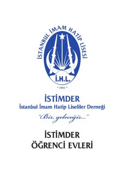 9-istimder öğrenci evleri - İstanbul İmam Hatip Lisesi Mezunları ve