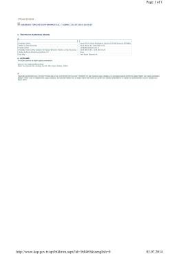 Page 1 of 1 02.07.2014 http://www.kap.gov.tr/api/bildirim.aspx?id