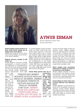 AYNUR ERMAN - Young Business