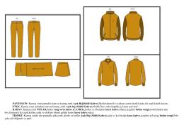 PANTOLON: Kumaş cinsi pamuklu kanvas kumaş,renk Açık Bej