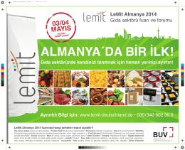 ALMANYA´DA BİR İLK! - LeMit Deutschland 2015
