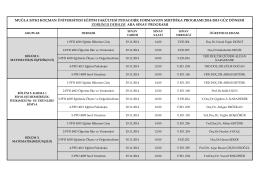 ingilizce öğretmenliği sertifika programı başvuru formu