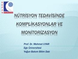 Prof. Dr. Mehmet UYAR