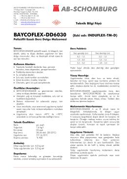 BAYCOFLEX-DD6030 (Eski adı: INDUFLEX-TM-D) - ab