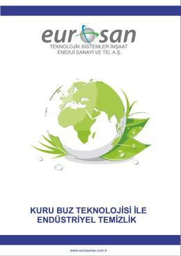 Kuru Buz Katalog - Eurosan Teknolojik Sistemler İnşaat Enerji