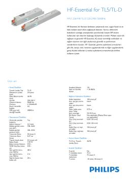 Product Leaflet: HF-E TL-D