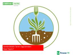 Sürdürülebilir Tarım Uygulamaları Nasıl Yapılır?