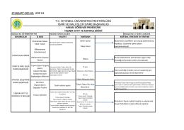 Taşınır Kayıt ve Kontrol - İstanbul Üniversitesi | İdari ve Mali İşler