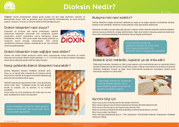 Dioksin Nedir? - TC Gıda Tarım ve Hayvancılık Bakanlığı