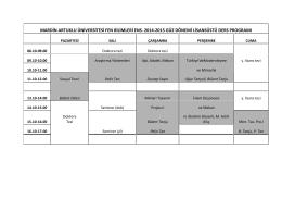 mardin artuklu üniversitesi fen bilimleri ens. 2014