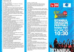 2014 Eylül Yarış Kuralları