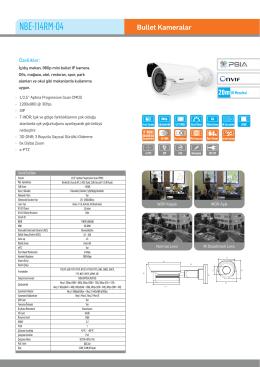 Karel NBE-114RM-04 IP HD Bullet Kamera PDF Dosyası220.15 KB