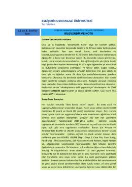 eskişehir osmangazi üniversitesi bilgilendirme notu