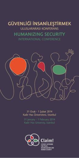Konferans Programı - Helsinki Yurttaşlar Derneği