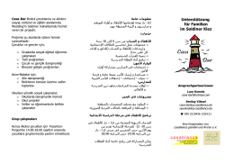 Faltblatt Casa-Dar - Panke-Haus
