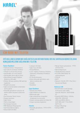 ICW-1000G WiFi TELEFON