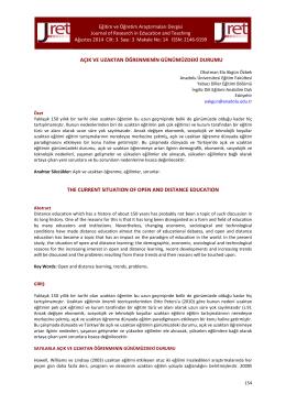 14.Akgün Özbek - Eğitim ve Öğretim Araştırmaları Dergisi
