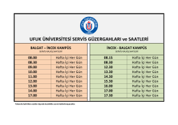 öğrenci - Ufuk Üniversitesi