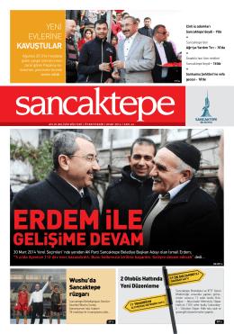 GEliŞiME DEVAM - Sancaktepe Belediyesi