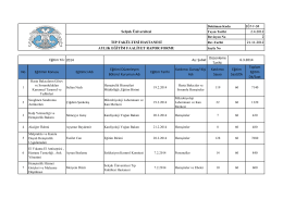 EĞT-F-04 2.4.2012 2 21.11.2012 2014 No Eğitimin Konusu Eğitimci