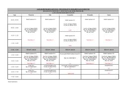 2014-2015 Güz Dönemi IV. Sınıf