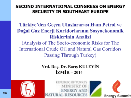 Topic 7 - Energy Resources