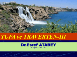 TUFA VE TRAVERTEN-PPT-SUNUM-III