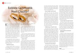 Evlilikte Geçimsizlik Nasıl Çözülür?