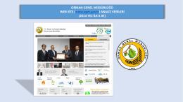 2014 Yılı İlk 6 Ay - Orman Genel Müdürlüğü