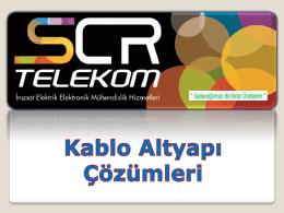 2014 SCR Telekom Altyapı - Akıllı Yapılar