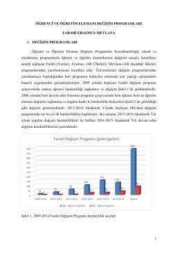 2013-2014 Faaliyet Raporu - Farabi