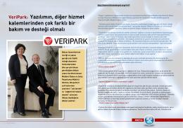 VeriPark: Yazılımın, diğer hizmet kalemlerinden çok farklı bir bakım