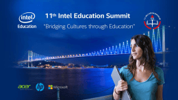 Slayt 1 - Intel Education Summit