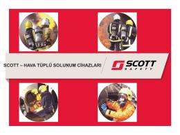 scott – hava tüplü solunum cihazları