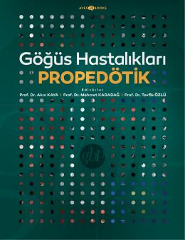 Propedötik - Prof.Dr.Mehmet KARADAĞ, Göğüs Hastalıkları ve