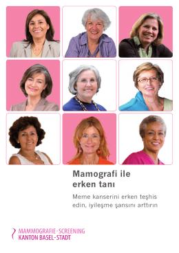 Mamografi ile erken tanı