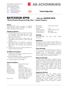 BAYCODUR-EP98 (Eski adı: ASODUR-EK98) - ab